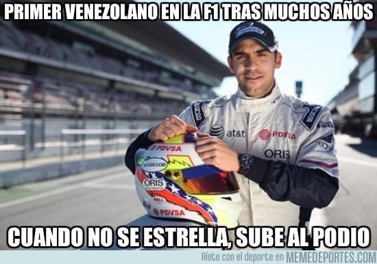 12030 - Primer Venezolano en la F1 tras muchos años