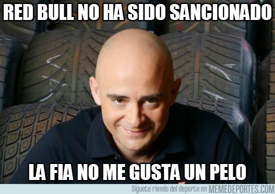 12184 - Red Bull no ha sido sancionado