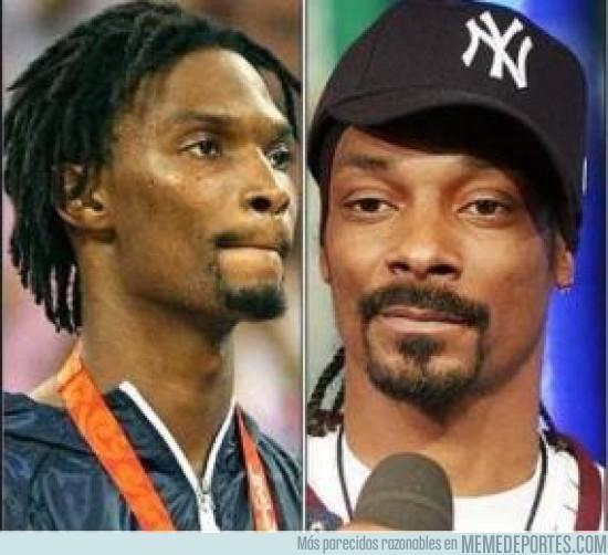 12327 - Chris Bosh y Snoop Dogg