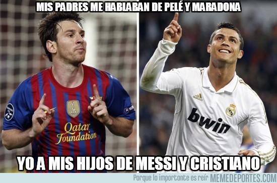 12378 - Mis padres me hablaban de Pelé y Maradona