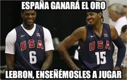 Enlace a España ganará el oro