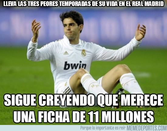 12904 - Lleva las tres peores temporadas de su vida en el Real Madrid