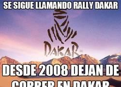 Enlace a La lógica del Dakar