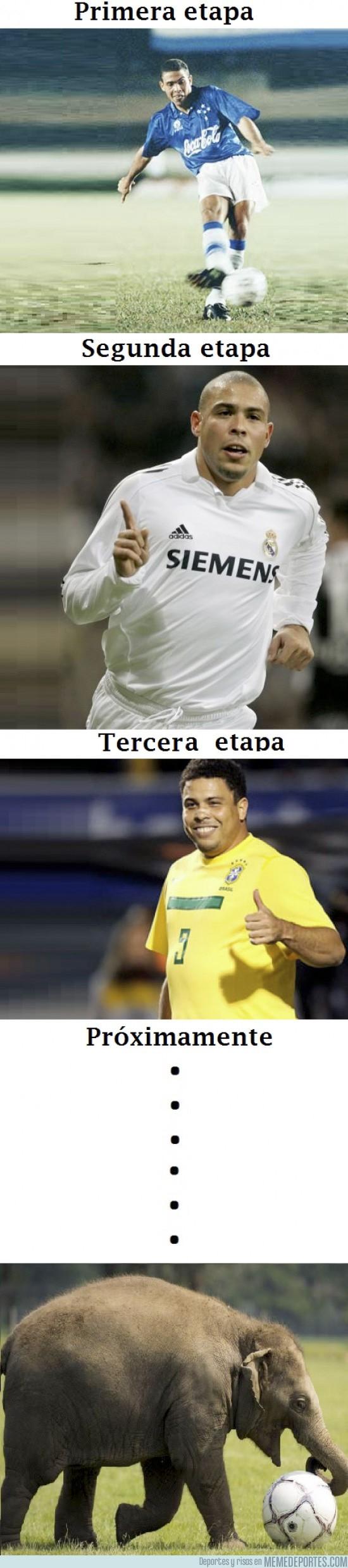 13266 - Las etapas físicas de Ronaldo