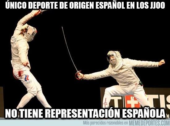 13321 - Único deporte de origen español en los JJOO
