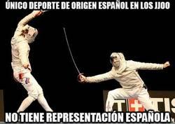 Enlace a Único deporte de origen español en los JJOO