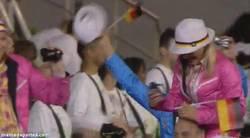 Enlace a GIF: Nazi en la ceremonia de las Juegos Olímpicos 2012