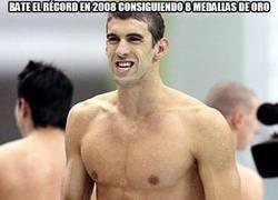 Enlace a Bate el récord en 2008 consiguiendo 8 medallas de oro