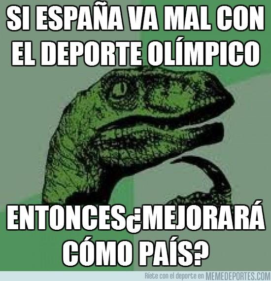 13718 - Si España va mal con el deporte olímpico