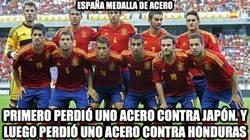 Enlace a España medalla de acero