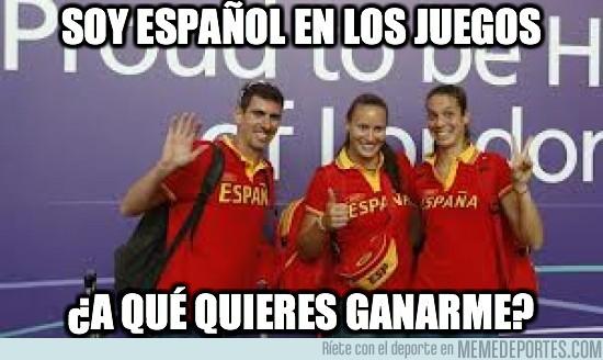 13879 - Soy español en los JJOO