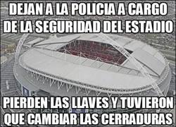 Enlace a Dejan a la policía a cargo de la seguridad del estadio