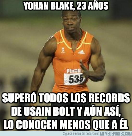 14091 - Yohan Blake, 23 años