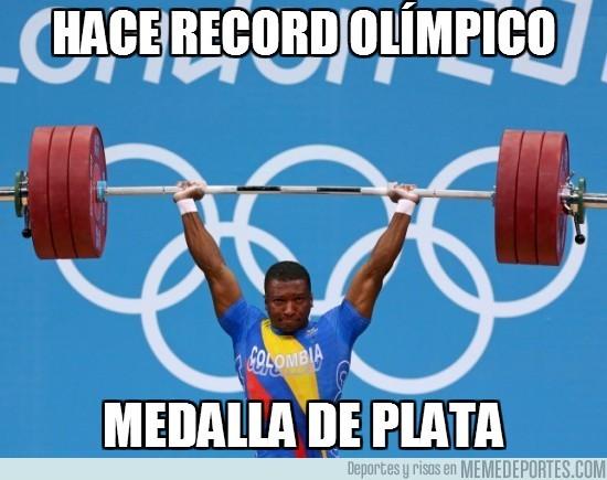 14112 - Hace record olímpico