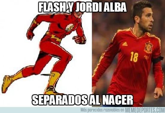 7931 - Flash y Jordi Alba