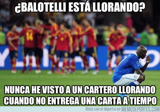 7971 - ¿Balotelli está llorando?