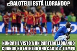 Enlace a ¿Balotelli está llorando?