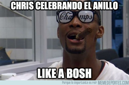 8239 - Chris celebrando la nba
