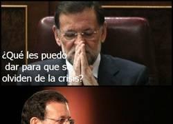 Enlace a Rajoy por fin dio en el clavo