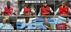 Enlace a Manchester city