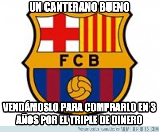 9215 - Política de cantera del Barça