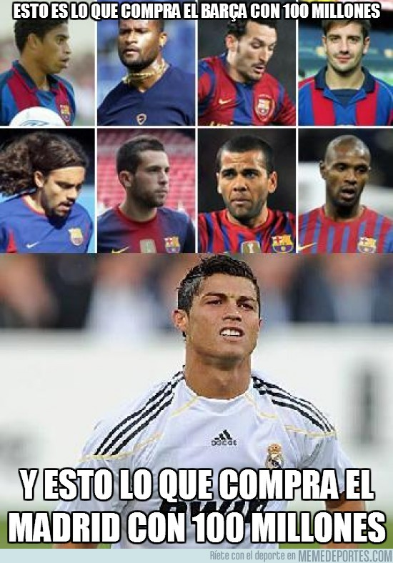 9347 - Esto es lo que compra el Barça con 100 millones