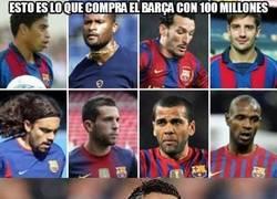 Enlace a Esto es lo que compra el Barça con 100 millones