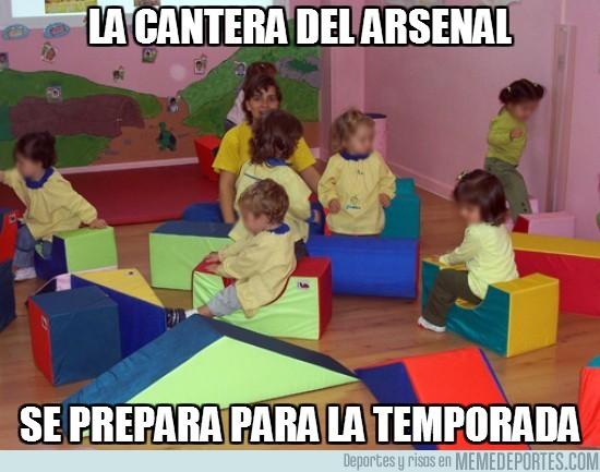 9395 - La cantera del Arsenal