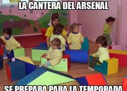 Enlace a La cantera del Arsenal