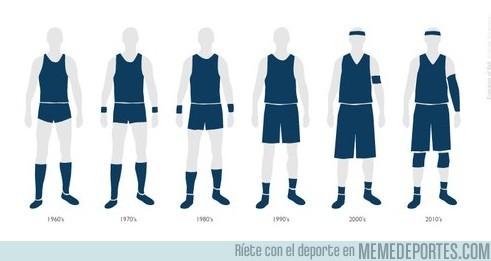 9404 - Evolución del uniforme de baloncesto, ¿pero esto qué es?