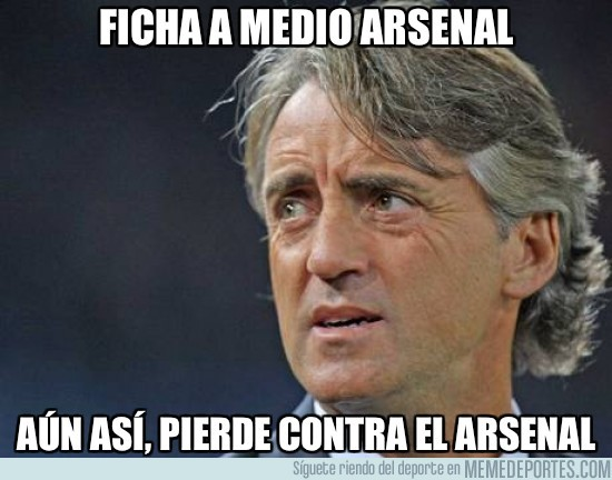 9497 - Ficha a medio Arsenal