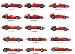 Enlace a Evolución del coche de Ferrari en F1