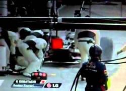 Enlace a VÍDEO: Atropello de Kobayashi en boxes