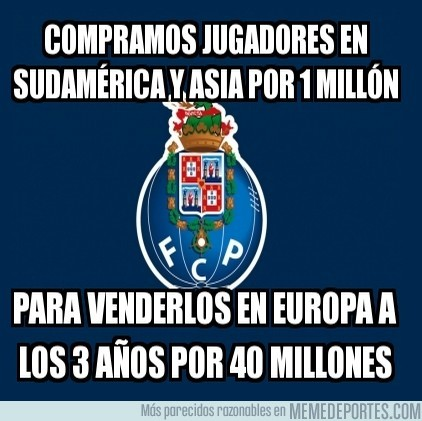 9717 - FC Porto, comprando barato para luego forrarse