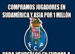 Enlace a FC Porto, comprando barato para luego forrarse