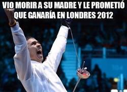 Enlace a Vio morir a su madre y le prometió que ganaría en Londres 2012