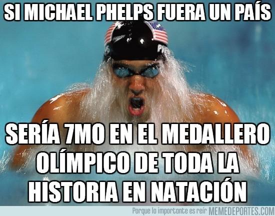 14604 - Si Michael Phelps fuera un país