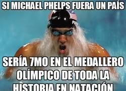 Enlace a Si Michael Phelps fuera un país