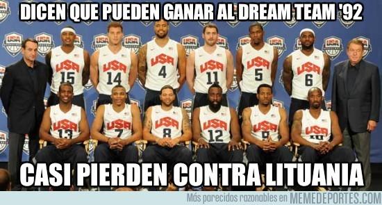 14867 - Dicen que pueden ganar al Dream Team '92