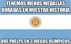 Enlace a Argentina vs Phelps