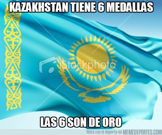 15037 - Kazakhstan tiene 6 medallas