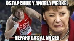 Enlace a Ostapchuk y Angela Merkel