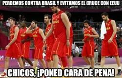 Enlace a Perdemos contra Brasil y evitamos el cruce con EEUU
