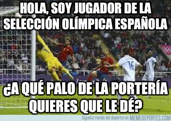15510 - Hola, soy jugador de la selección olímpica española
