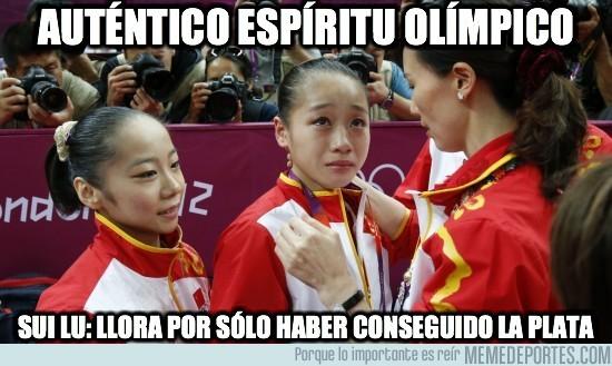 15673 - Verdadero espíritu olímpico