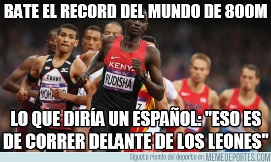 15771 - Bate el record del mundo de 800m