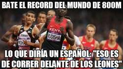 Enlace a Bate el record del mundo de 800m