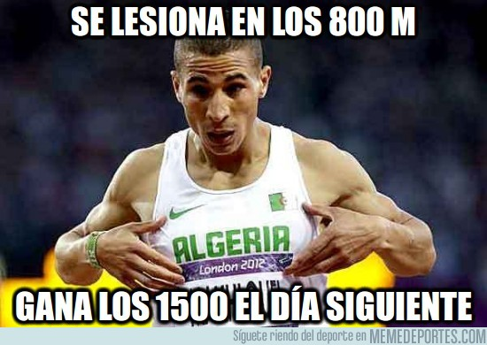 15789 - Se lesiona en los 800m