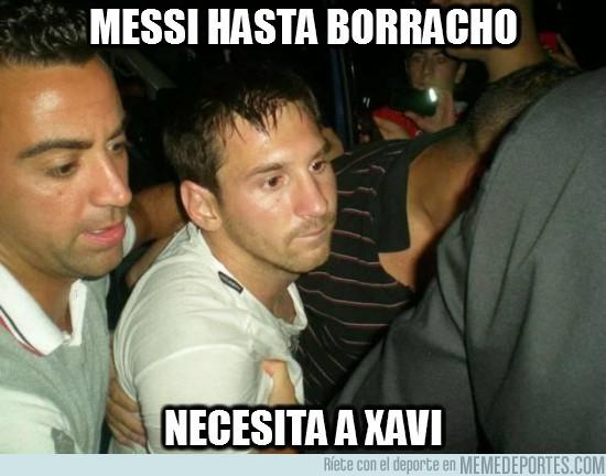 16051 - Messi hasta borracho