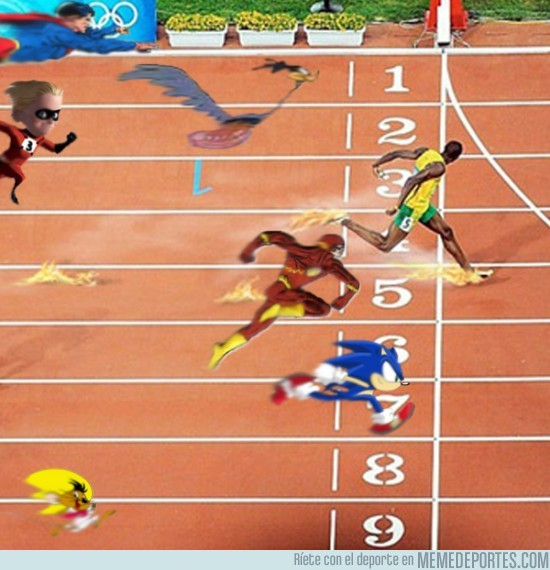 16225 - Nadie puede con Usain Bolt